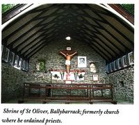 St. Oliver's Shrine, Ballybarrack